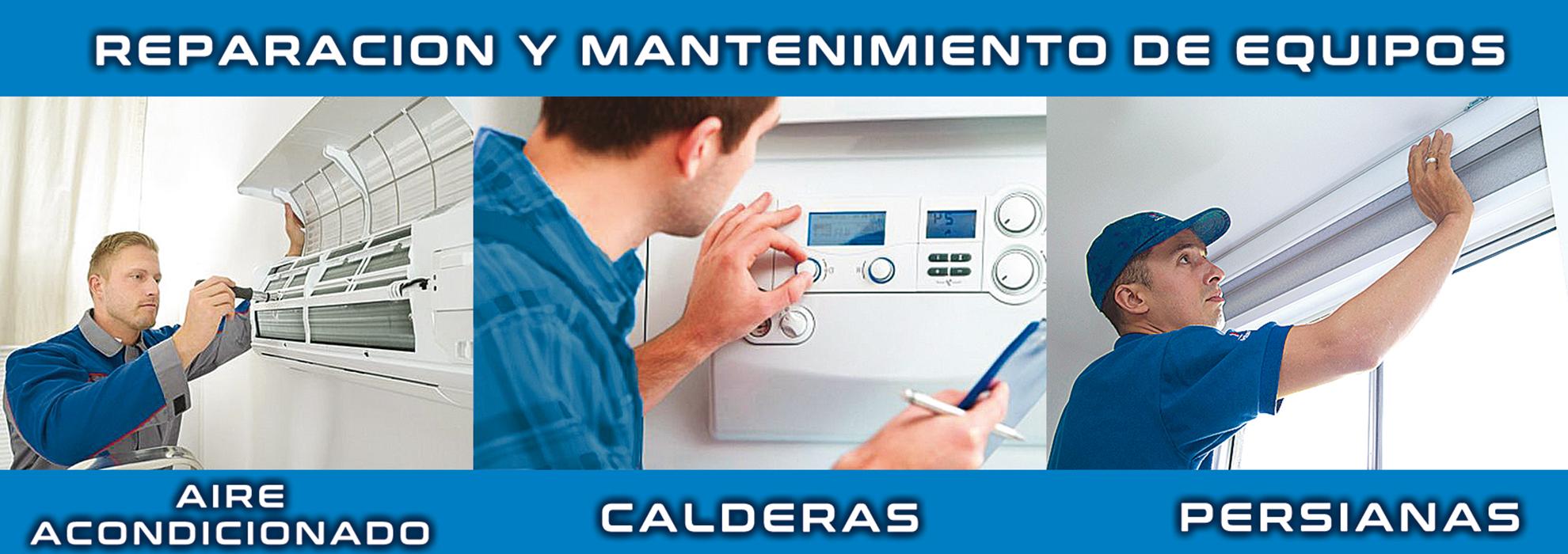 reparación y mantenimiento Aire Acondicionado